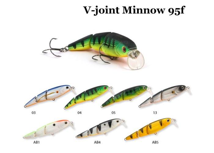 воблер v-joint minnow 95su